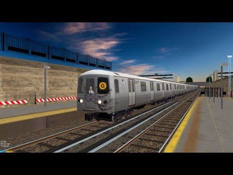 OpenBVE HD: Operating NYC Subway R46 Q Express Train (57th St-7th Av to Coney Island-Stillwell Av)