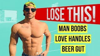 The #1 Fat Loss X-Factor For Stubborn Areas (MAN BOOBS - LOVE HANDLES - BELLY FAT)