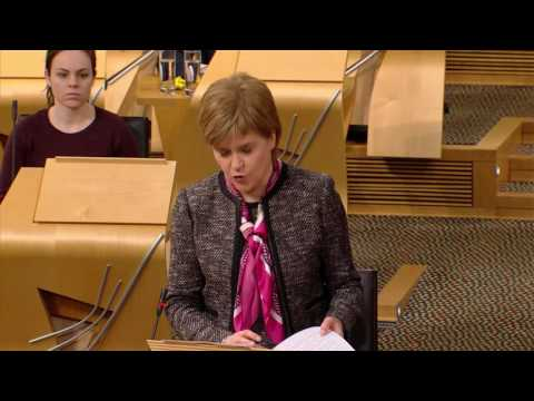 Scotland's Place in Europe - Scottish Parliament: 20th December 2016