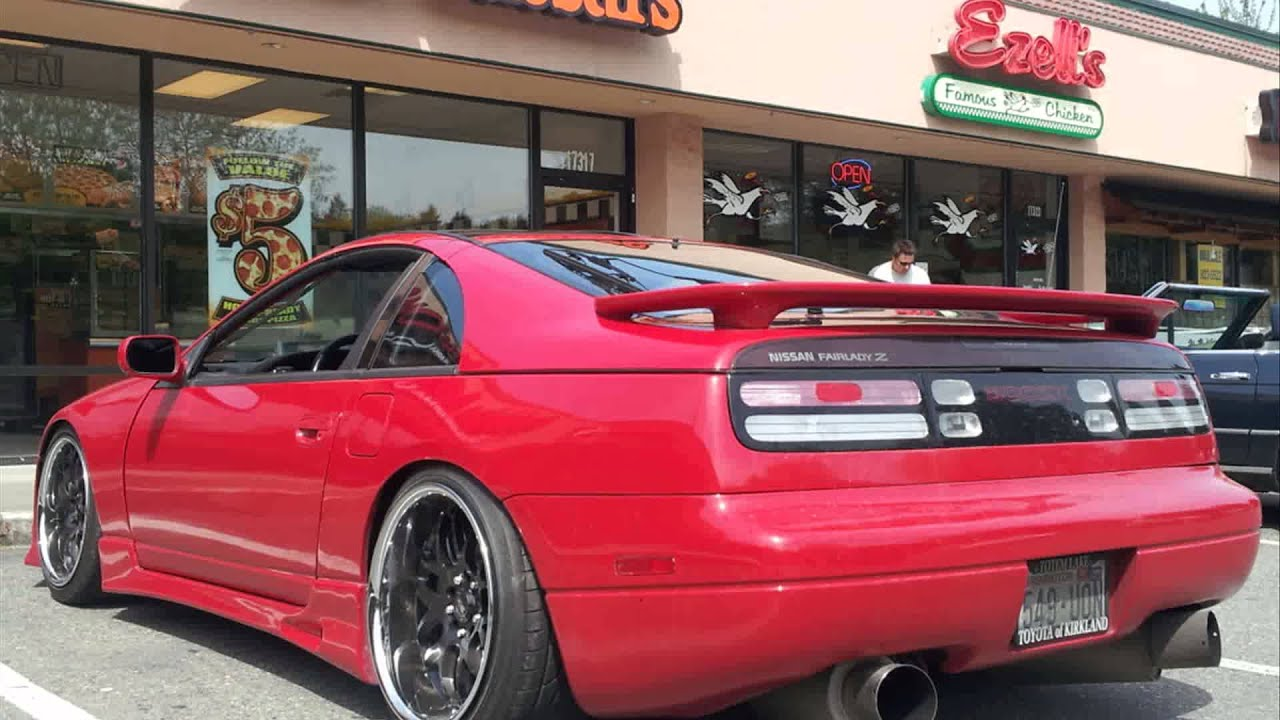 nissan 300zx z32 tuning cars - youtube