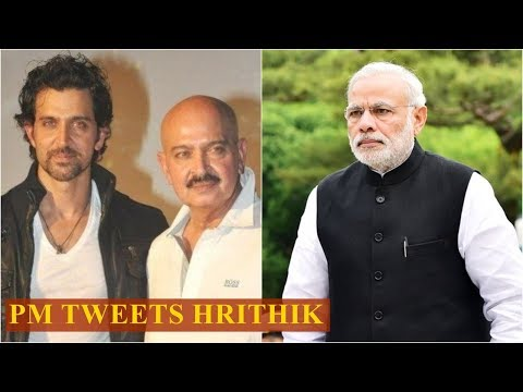PM Narendra Modi tweets Hrithik Roshan, prays for Rakesh Roshan's good health Mp3