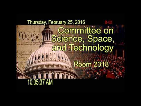 Hearing: The Space Leadership Preservation Act and the Need for Stability at NASA (EventID=104524)