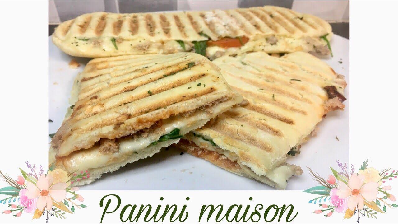 Pain panini maison 🥖😋 - YouTube
