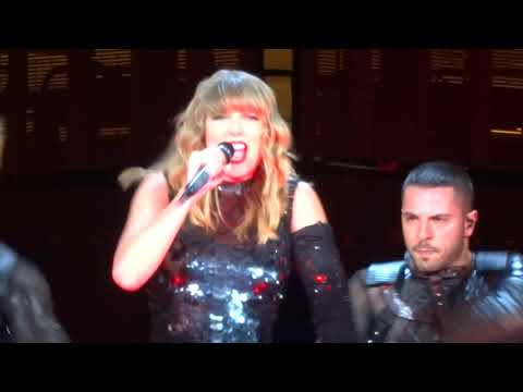 Taylor Swift - I Did Something Bad Live - Levi's Stadium - Santa Clara, CA - 5/11/18 - [HD]