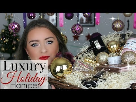 Christmas Gift Ideas ♡ Luxury Holiday Hamper