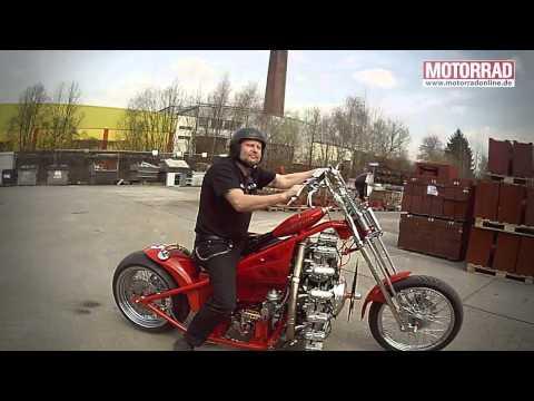 Sternmotorbike: Frank Ohle baut Motorrad mit Flugzeugmotor