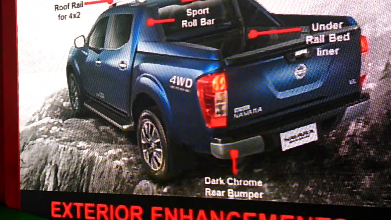 Features of Nissan Navara Sport Edition Part 2 - YouTube
