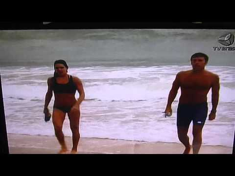 Gladiadores e Natacao no Mar na TV Brasil Stadium