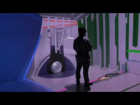 """Virtual reality """"cave"""" at NIAR gives center new capabilities"""