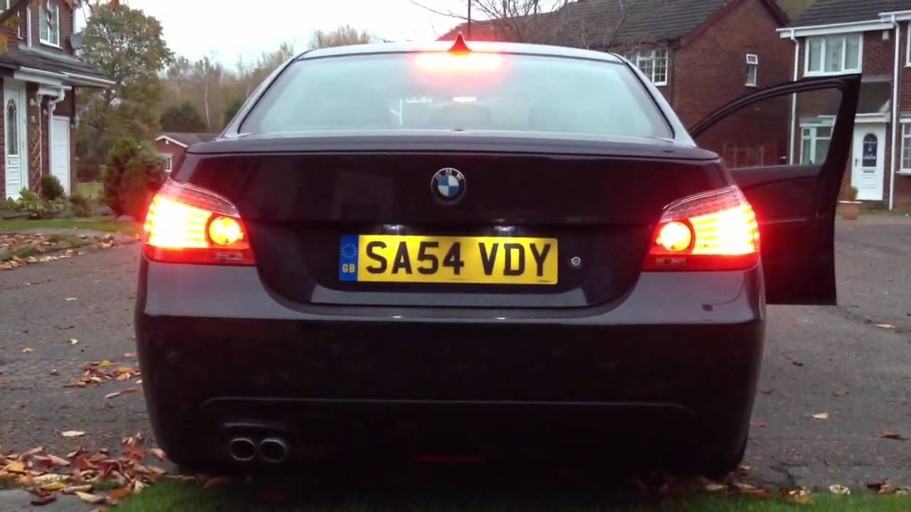bmw e60 lci facelift rear lights with mironics v6 modules. Black Bedroom Furniture Sets. Home Design Ideas