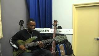 Brubaker bass 6 string Jazz Demo Malcolm Hall