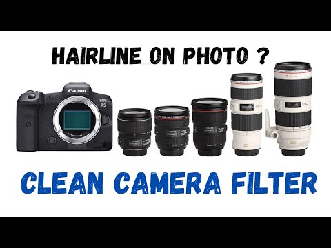 Sensor Cleaning for Canon EOS DSLR DIY