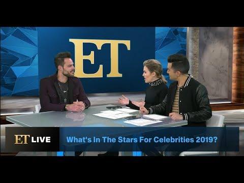 Entertainment Tonight LIVE: 2019 Celebrity Love/Career Horoscopes Celebrity Astrologer The Leo King