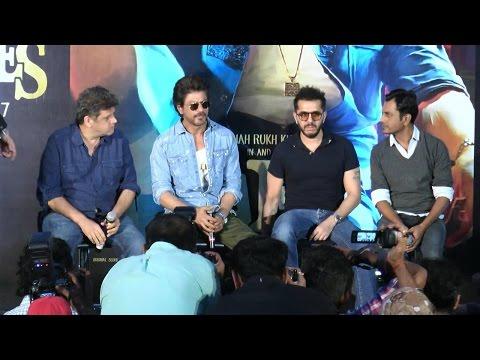 Raees Trailer Launch   Shahrukh Khan   Part 1