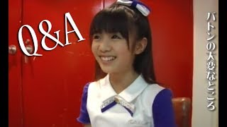Sakura Gakuin Twinklestar answering some questions. I DO NOT OWN TH...