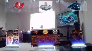 Buccaneers vs Panthers Live