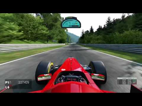 Project Cars World Record Nordschleife F1 4:58:397  DS4 (HUN