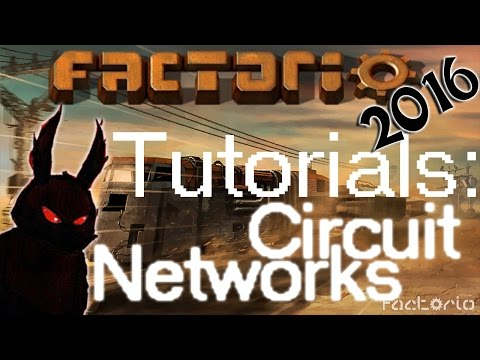 Factorio 2016 How to►Smart Chest and Circuit Network Tutorial◀ [60fps, 1080p]