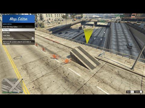 GTA V - Map Editor [Mod Showcase]