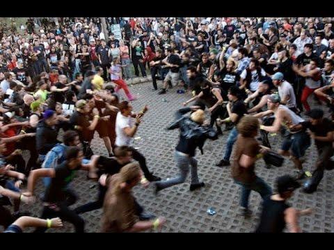 СТЕНА СМЕРТИ - Дикий Слэм на Рок концертах