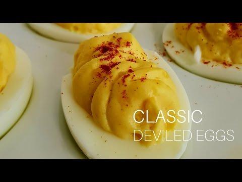 Classic Deviled Egg Recipe & Piping Shortcut