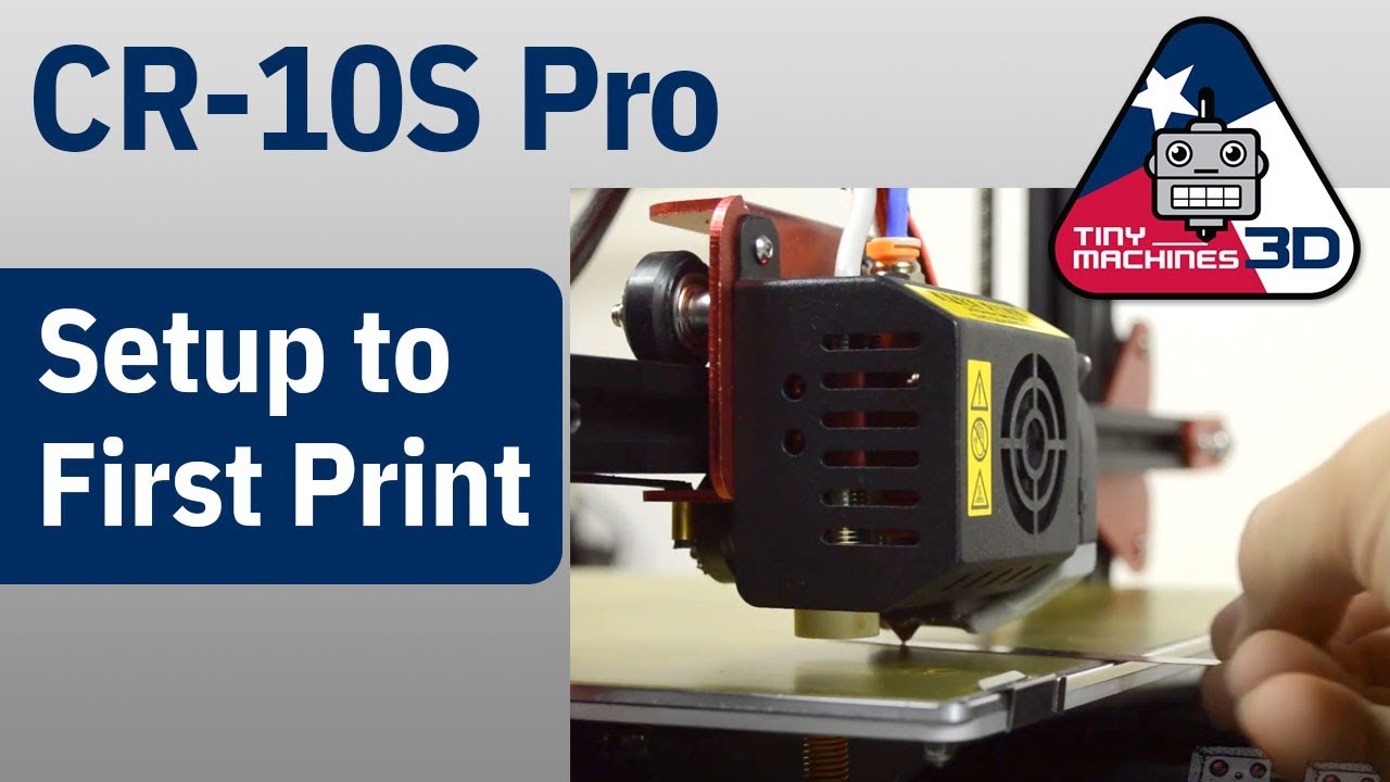 Resource Page: CR-10S PRO – Tiny Machines 3D LLC