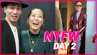 NYFW Day 2: My NYFW Outfits & Self-Portrait Show | Vlog #72 | Aimee Song