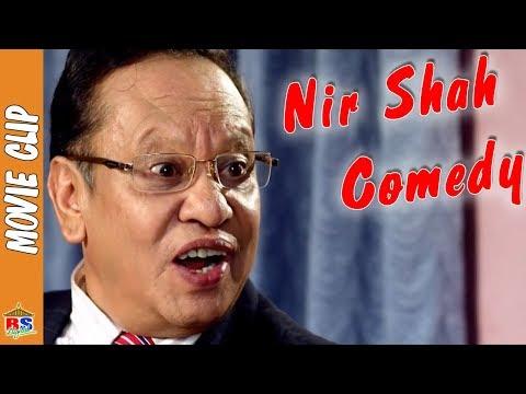 Nir Shah Comedy  ||  Comedy Nepali Movie Clip || Mahasush