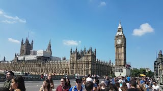 A Beautiful Sunny Day In The City Of London.