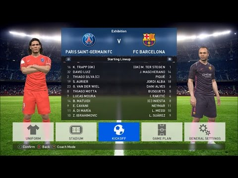 Pro Evolution Soccer 2017 PC Max Set Gameplay