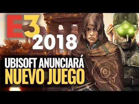 Ubisoft anunciará un NUEVO JUEGO AAA para el E3 2018 | ¿NUEVO ASSASSIN'S CREED 2018 O SPLINTER CELL?
