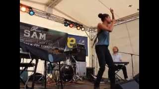 Miss Sam Agentur auf dem Jazzsommer 2014 -präsentiert Astrid North