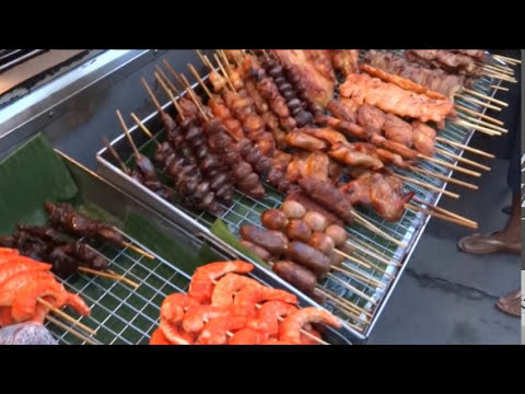 Street Food in Thailand,Thai Food, Thai Cuisine, Exotic Food in Thailand