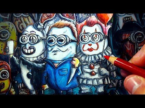 If Minions were Horror Movie Villains Part 3