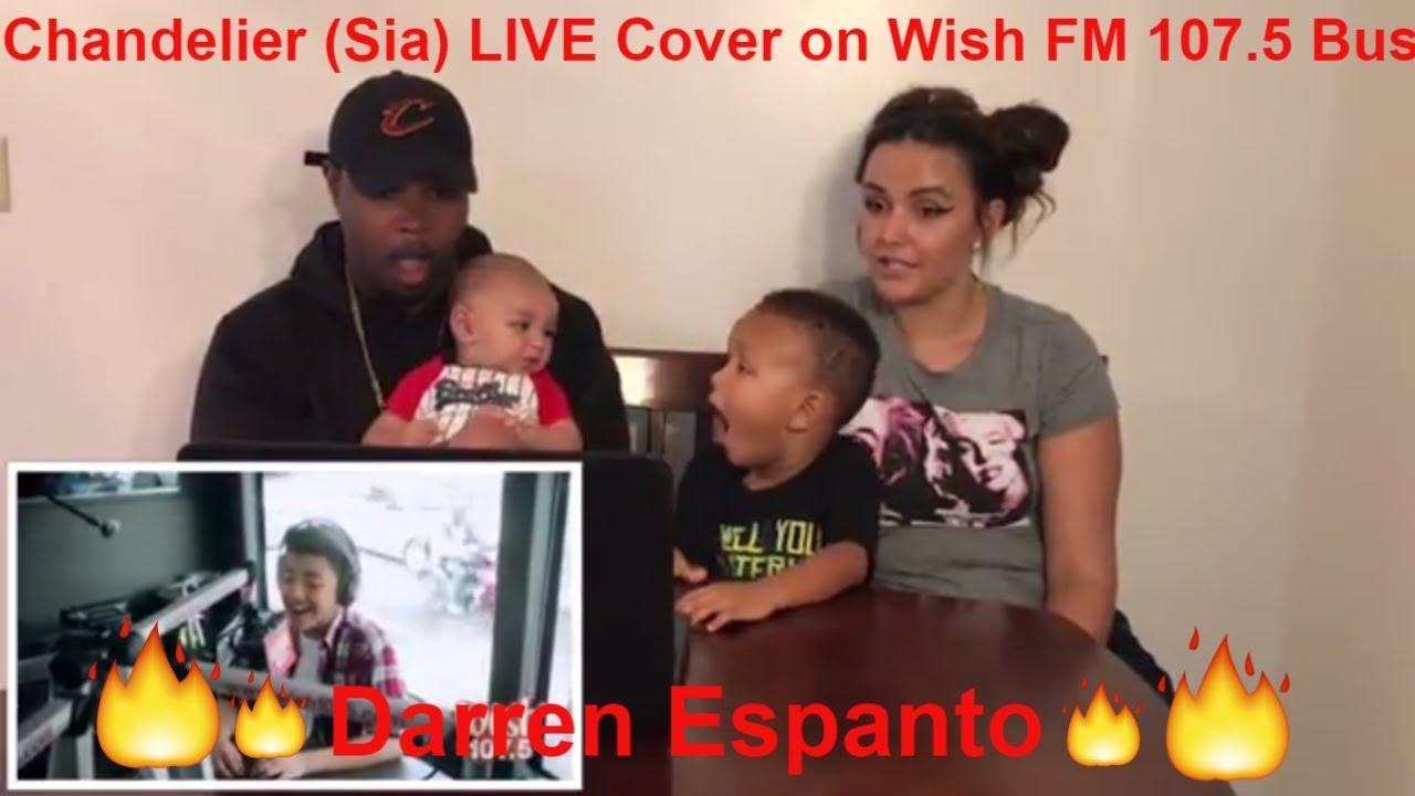 Darren Espanto - Chandelier (Sia) LIVE Cover on Wish FM 107.5 Bus ...