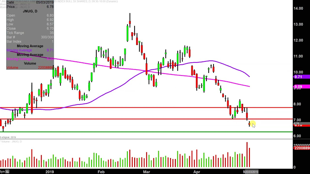 Direxion Daily Junior Gold Miners Index