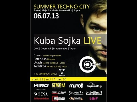 Peter Ash - Live On Summer Techno City 6.07.2013 Sopot