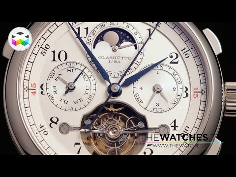 A. Lange & Soehne New Timepieces at the 2017 SIHH