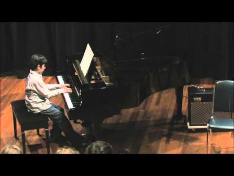 Nicholas Livanos Performs 'Sarabande' and 'Waltz for Michael'