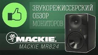 Обзор мониторов Mackie MR824