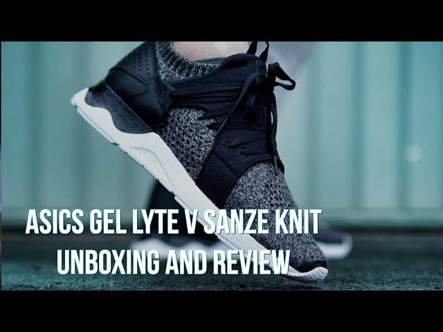 Asics Gel Lyte V Sanze Knit - On Foot