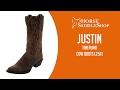 Justin Boots Women's Tan Puma Cow Boots L2561