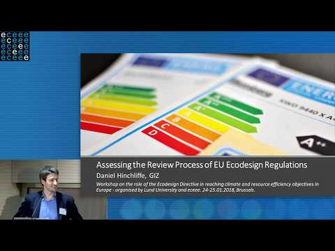 Assessing the review process of EU ecodesign regulations – E
