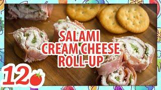 How To Make: Salami Cream Cheese Roll-Ups