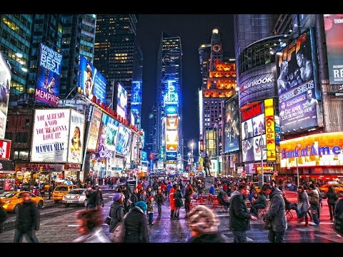 MANHATTAN - NEW YORK CITY - NY, UNITED STATES - A TRAVEL TOUR HD