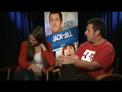 Adam Sandler and Katie Holmes Interview for JACK AND JILL