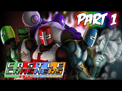 Castle Crashers Remastered Xbox One Playthrough! (Part 1)