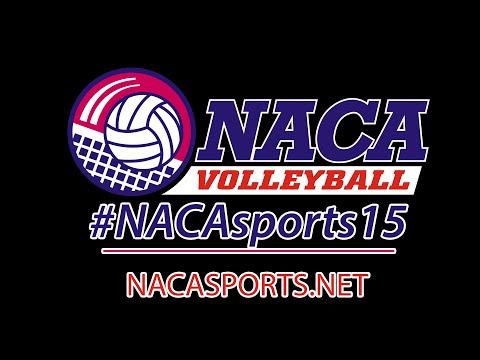 2015 NACA Volleyball D4 - N. Asheville (NC) vs. Mountain View (VA)