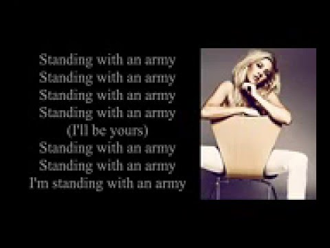 Ellie Goulding   Army Lyrics video hd