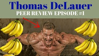 Thomas Delauer (SixPackAbs): Youtube Fitness Peer Review